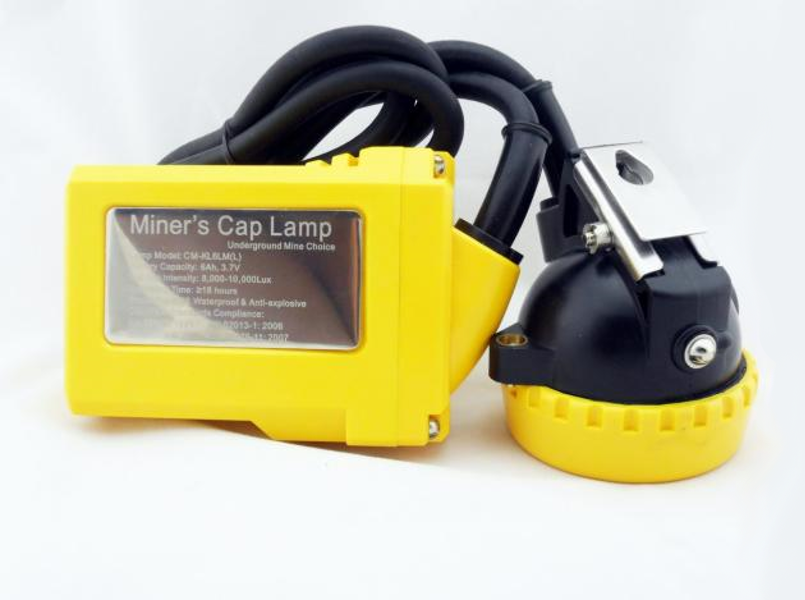 mine safety equipment - head lamp